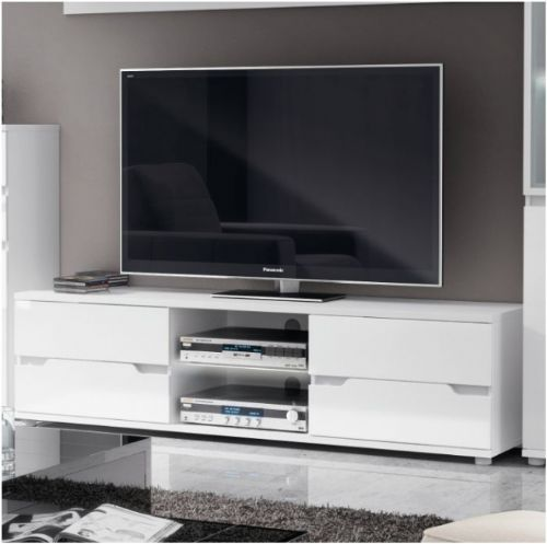 Aspen TV Unit High Gloss White - 2527